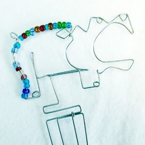 Bookmark Giraffe Beads