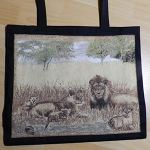 Shopper black, Lion