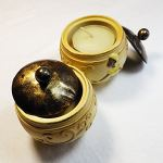 Set of 2 Tealight holders Woman