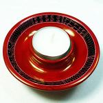 Tealight holder, red
