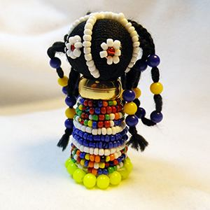 Ndebele Doll Lime
