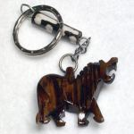 Keyring Bone/Horn - Lion