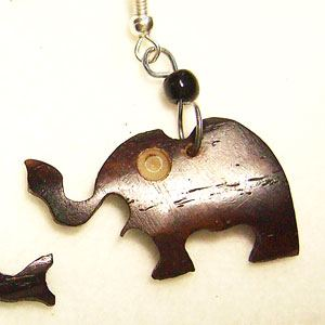 Horn earrings Elephant (3)